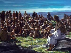 Los reunía y les explicaba las parábolas y las Escrituras.