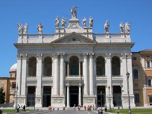 La Basílica del Salvador y de los santos Juan Bautista y Juan Evangelista, más conocida como Archibasílica de San Juan de Letrán es la catedral de Roma, donde se encuentra la sede episcopal del obispo de Roma (el papa).
