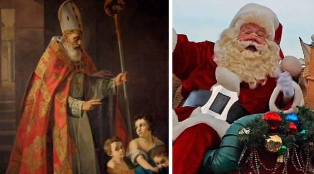 Santa Claus se asocia a la infancia, San Nicolás es un modelo de cristiano para toda la vida.